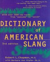 Dictionary of American Slang