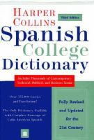 Collins Spanish-English, English-Spanish Dictionary