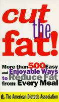 Cut the Fat!
