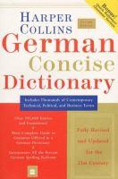 German Dictionary Plus Grammar