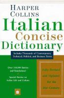 Italian Dictionary Plus Grammar