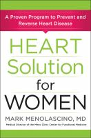 Heart Solution for Women by Mark Menolascino