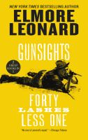 GUNSIGHTS AND FORTY LASHES LESS ONE