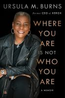 Where You Are Is Not Who You Are