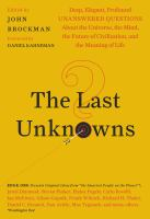 The Last Unknowns