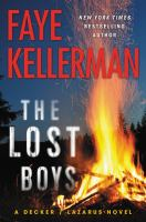 LOST BOYS : A DECKER/LAZARUS NOVEL - Being Reviewed For Purchase