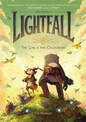 Lightfall Book one The girl & the Galdurian