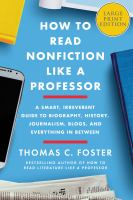 How to Read Nonfiction Like A Professor