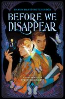 Before we disappear492 pages ; 21 cm