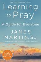 Learning to Pray [large Print]