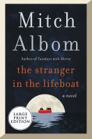The Stranger In The Lifeboat - Large Print