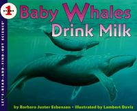 Baby Whales Drink Milk