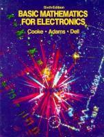 Basic Mathematics for Electronics