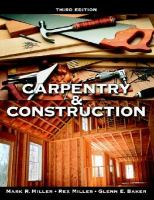 Carpentry & Construction