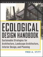 Ecological Design Handbook