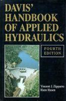 Davis' Handbook of Applied Hydraulics