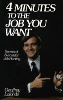4 Minutes to the Job You Want