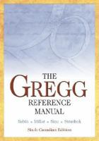 The Gregg Reference Manual