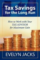 Tax Savings for the Long Run