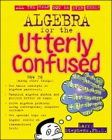 Algebra for the Utterly Confused