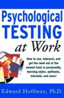 Psychological Testing at Work