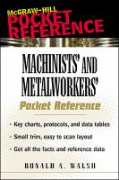 Machinists' and Metalworkers' Pocket Reference