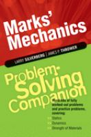 Marks' Mechanics Problem-solving Companion