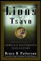 The Lions of Tsavo