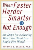 When Faster-harder-smarter Is Not Enough