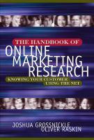Handbook of Online Marketing Research