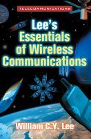 Lee's Essentials Of Wireless Communications