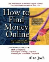 How to Find Money Online