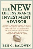 The New Life Insurance Investment Advisor