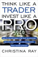 Think Like A Trader, Invest Like A Pro