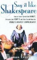 Say It Like Shakespeare