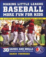 Making Little League Baseball More Fun for Kids