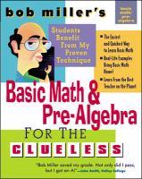 Basic Math and Prealgebra