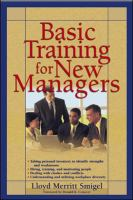 Basic Training for New Managers