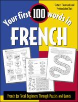 Your First 100 Words in French
