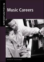 Opportunities in Music Careers