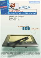 Essentials of Diagnosis & Treatment