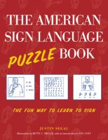 The American Sign Language Puzzle Book