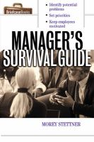 Manager's Survival Guide (Briefcase Books)