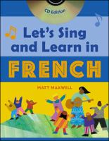 Let's sing and learn in French