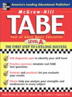 TABE Level A