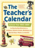 The Teacher's Calendar
