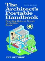 The Architect's Portable Handbook
