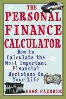 The Personal Finance Calculator