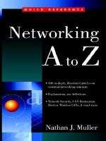 Networking A to Z (Quick Reference (McGraw-Hill))