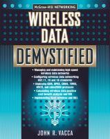 Wireless Data Demystified